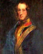 painting of Robert Hunter, 23rd laird of Hunterston