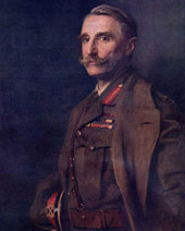 Painting of Aylmer Gould Hunter-Weston, 27th laird of Hunterston