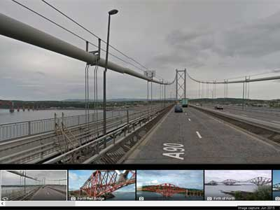 picture of the Forth Road Bridge