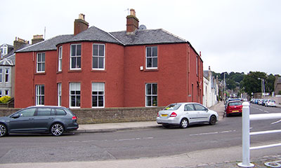 Broughty House, the General's house beside the castle