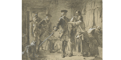 etching of redcoats searching