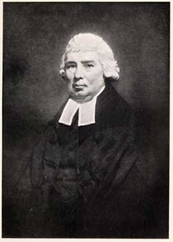 portrait of Rev. Andrew Hunter D.D.