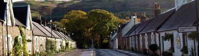 Straiton village in Ayrshire